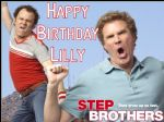 A4 Step Brothers Will Ferrell Personalised Edible Icing or Wafer Paper Cake Top Topper